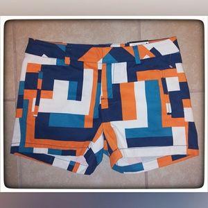 Stylus Multicolored Shorts Sz 2 NWT